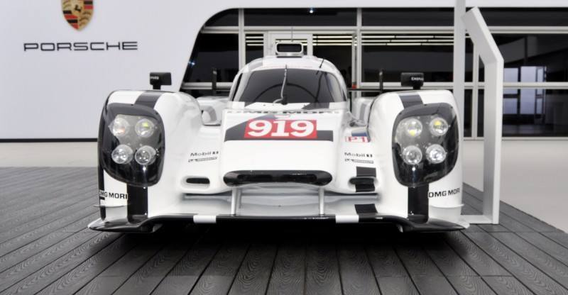Car-Revs-Daily.com 2014 Porsche 919 LMP1 Racecar at the Quail 40