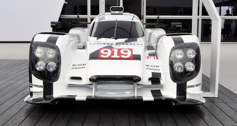 Car-Revs-Daily.com 2014 Porsche 919 LMP1 Racecar at the Quail 43