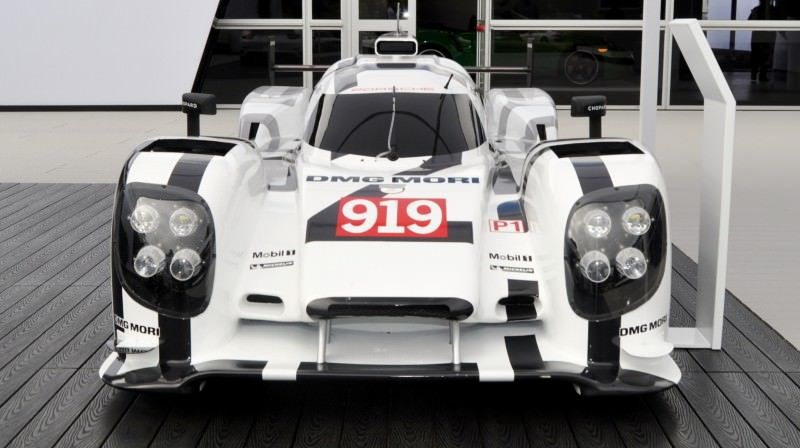 Car-Revs-Daily.com 2014 Porsche 919 LMP1 Racecar at the Quail 45