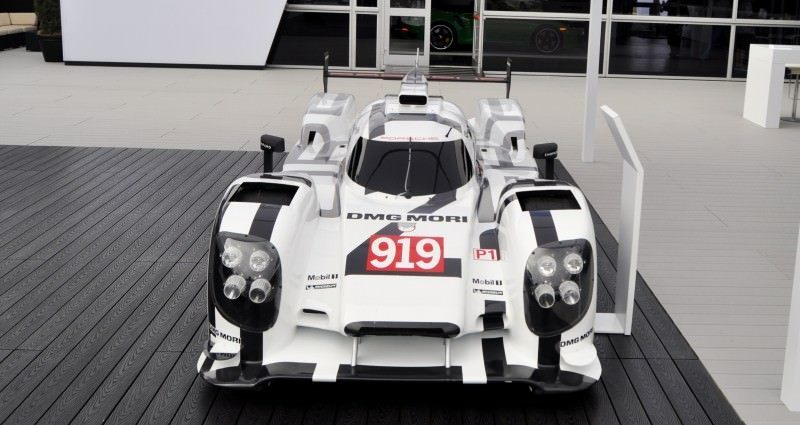 Car-Revs-Daily.com 2014 Porsche 919 LMP1 Racecar at the Quail 48