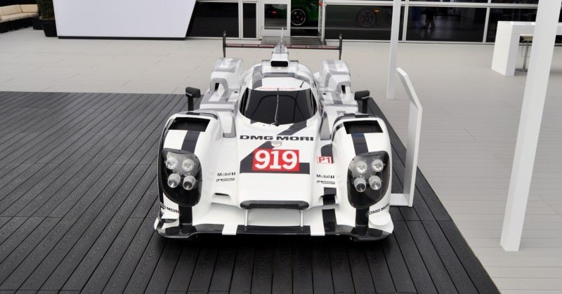 Car-Revs-Daily.com 2014 Porsche 919 LMP1 Racecar at the Quail 49