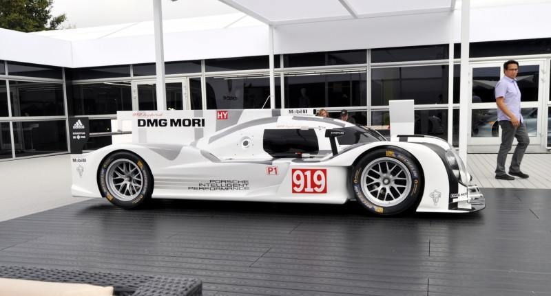 Car-Revs-Daily.com 2014 Porsche 919 LMP1 Racecar at the Quail 5
