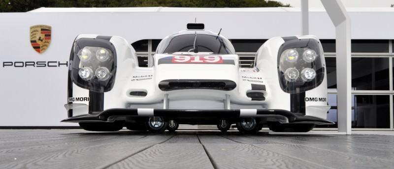 Car-Revs-Daily.com 2014 Porsche 919 LMP1 Racecar at the Quail 50