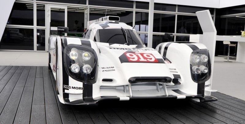 Car-Revs-Daily.com 2014 Porsche 919 LMP1 Racecar at the Quail 51