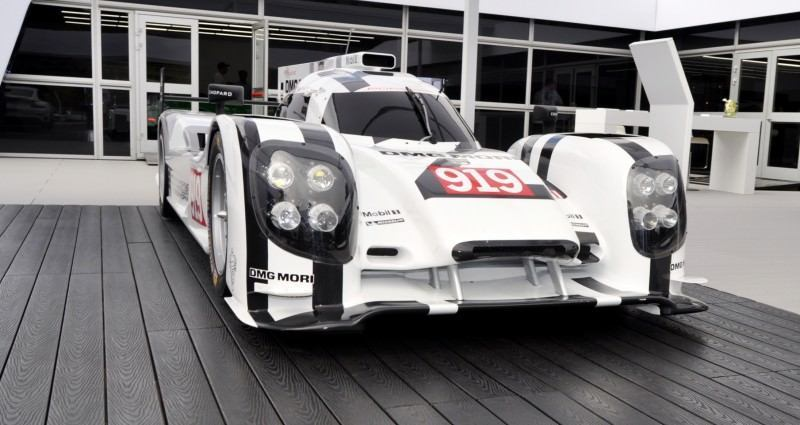 Car-Revs-Daily.com 2014 Porsche 919 LMP1 Racecar at the Quail 53