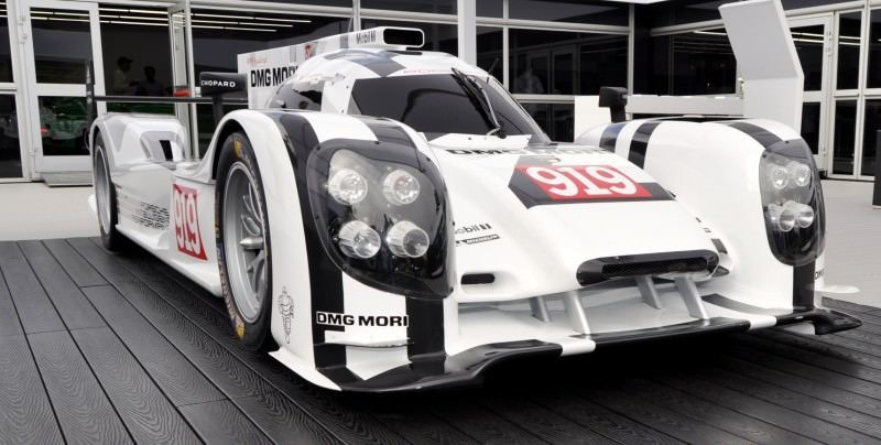 Car-Revs-Daily.com 2014 Porsche 919 LMP1 Racecar at the Quail 55