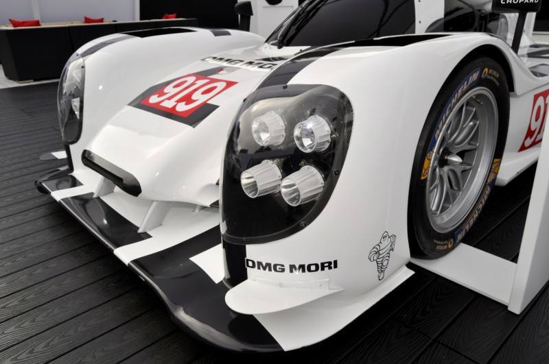 Car-Revs-Daily.com 2014 Porsche 919 LMP1 Racecar at the Quail 68