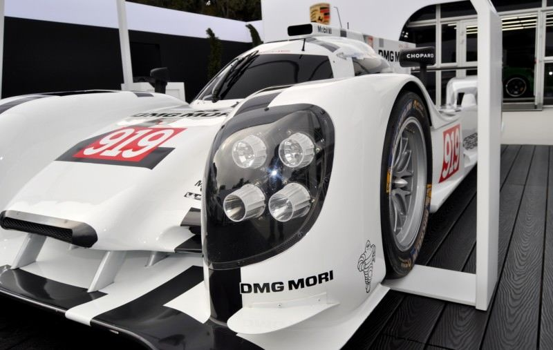 Car-Revs-Daily.com 2014 Porsche 919 LMP1 Racecar at the Quail 69