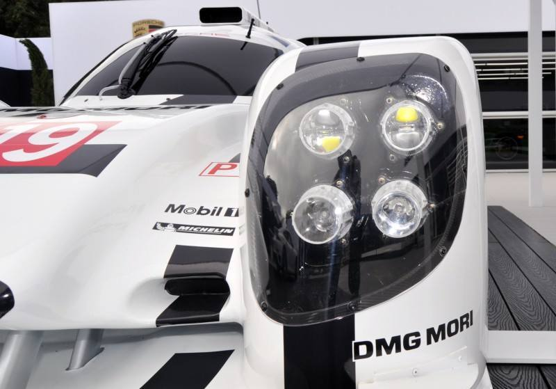 Car-Revs-Daily.com 2014 Porsche 919 LMP1 Racecar at the Quail 71