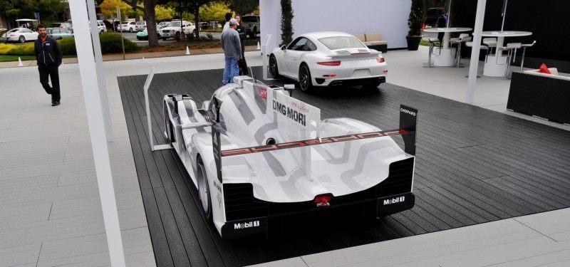 Car-Revs-Daily.com 2014 Porsche 919 LMP1 Racecar at the Quail 72