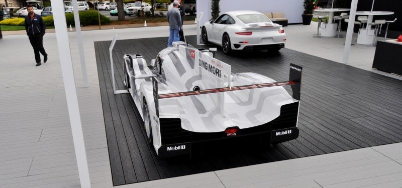 Car-Revs-Daily.com 2014 Porsche 919 LMP1 Racecar at the Quail 73