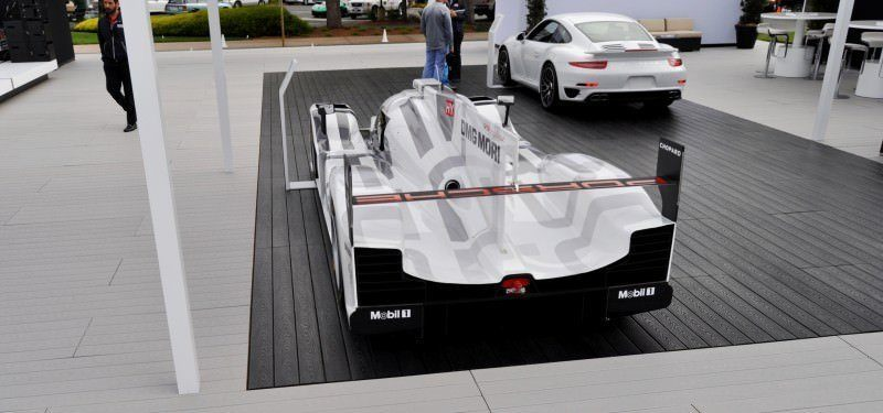 Car-Revs-Daily.com 2014 Porsche 919 LMP1 Racecar at the Quail 74