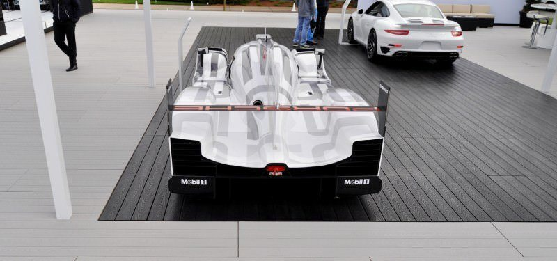Car-Revs-Daily.com 2014 Porsche 919 LMP1 Racecar at the Quail 76