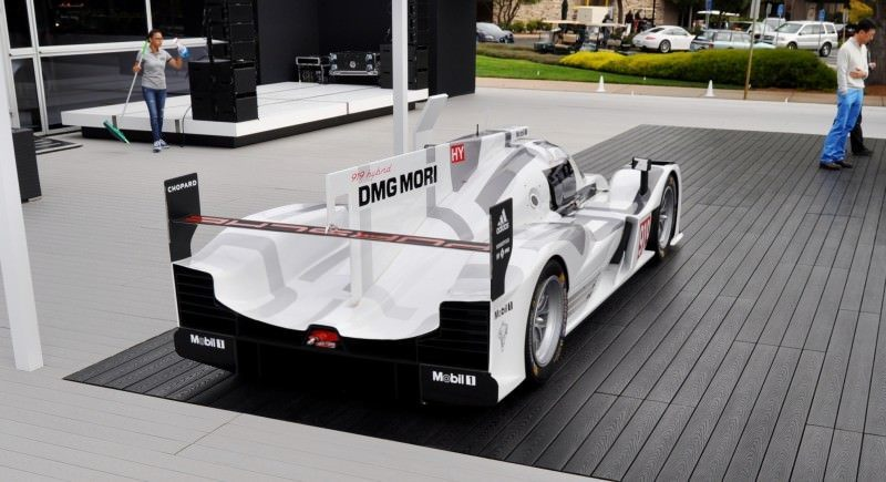 Car-Revs-Daily.com 2014 Porsche 919 LMP1 Racecar at the Quail 82