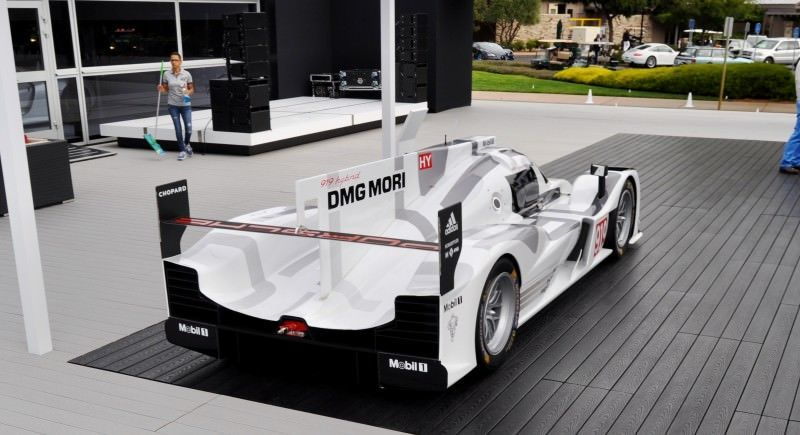 Car-Revs-Daily.com 2014 Porsche 919 LMP1 Racecar at the Quail 83
