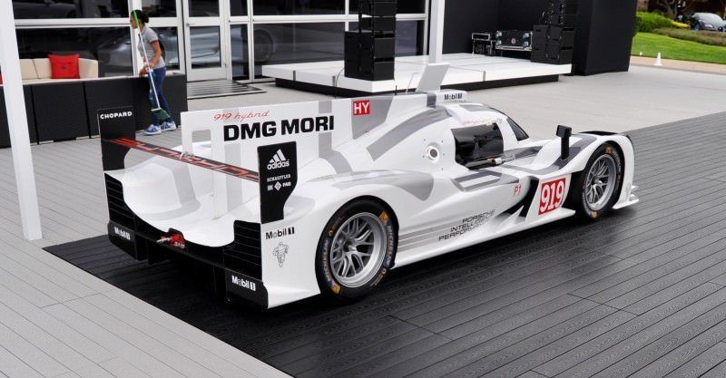 Car-Revs-Daily.com 2014 Porsche 919 LMP1 Racecar at the Quail 87