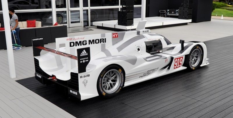 Car-Revs-Daily.com 2014 Porsche 919 LMP1 Racecar at the Quail 89