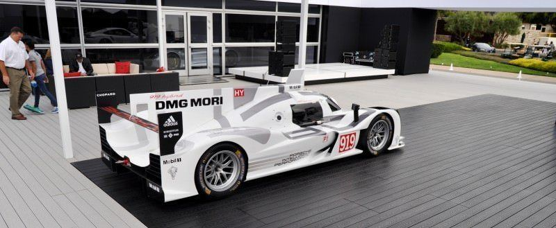 Car-Revs-Daily.com 2014 Porsche 919 LMP1 Racecar at the Quail 90