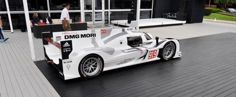 Car-Revs-Daily.com 2014 Porsche 919 LMP1 Racecar at the Quail 91