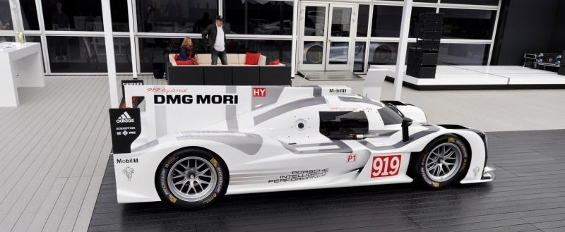 Car-Revs-Daily.com 2014 Porsche 919 LMP1 Racecar at the Quail 96
