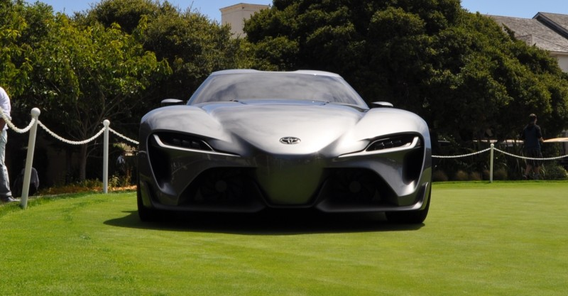Car-Revs-Daily.com 2014 Toyota FT-1 Concept Version Two Grey Pebble Beach 11