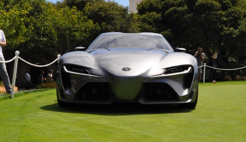 Car-Revs-Daily.com 2014 Toyota FT-1 Concept Version Two Grey Pebble Beach 12