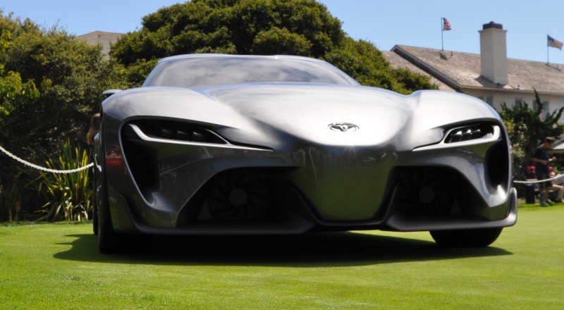 Car-Revs-Daily.com 2014 Toyota FT-1 Concept Version Two Grey Pebble Beach 13