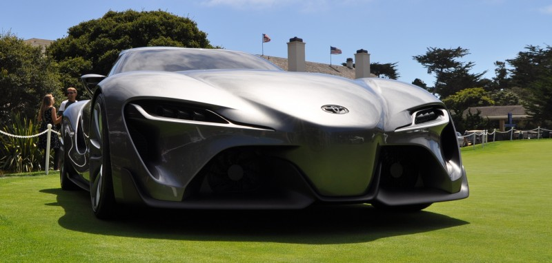 Car-Revs-Daily.com 2014 Toyota FT-1 Concept Version Two Grey Pebble Beach 14