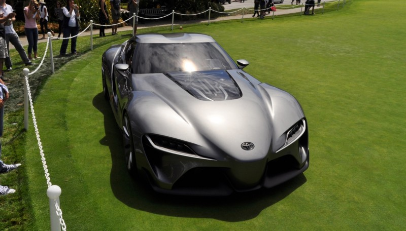 Car-Revs-Daily.com 2014 Toyota FT-1 Concept Version Two Grey Pebble Beach 15