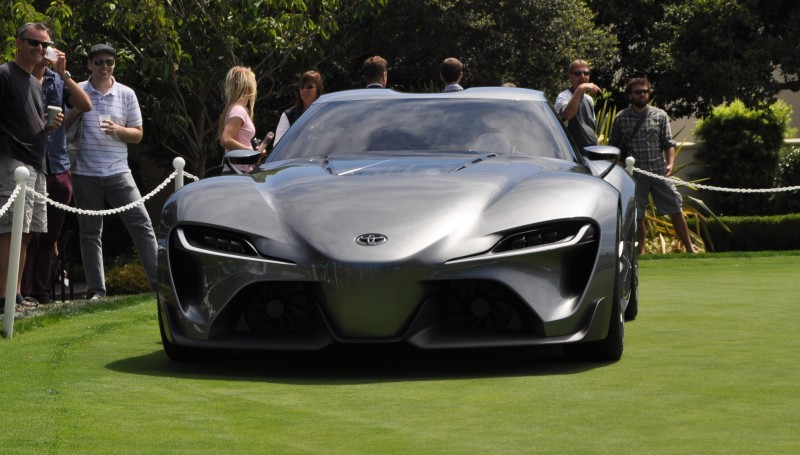Car-Revs-Daily.com 2014 Toyota FT-1 Concept Version Two Grey Pebble Beach 16