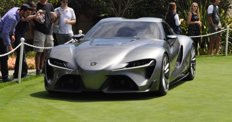 Car-Revs-Daily.com 2014 Toyota FT-1 Concept Version Two Grey Pebble Beach 17
