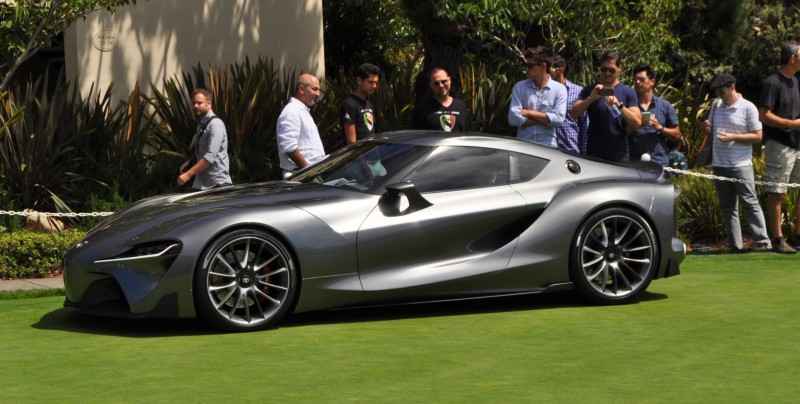 Car-Revs-Daily.com 2014 Toyota FT-1 Concept Version Two Grey Pebble Beach 19