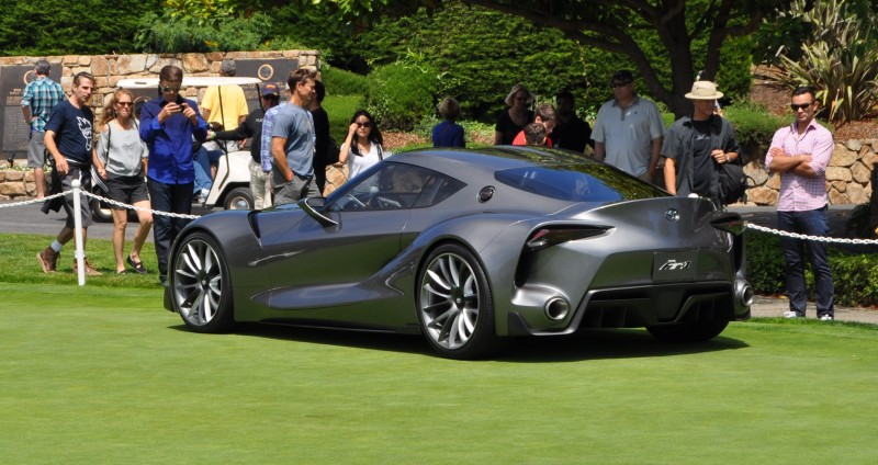 Car-Revs-Daily.com 2014 Toyota FT-1 Concept Version Two Grey Pebble Beach 22
