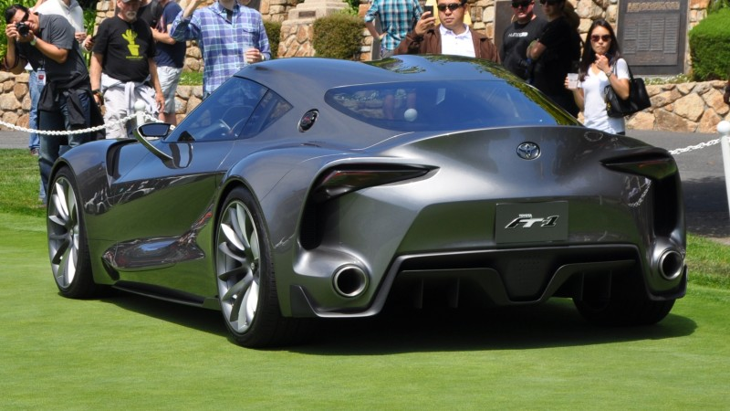 Car-Revs-Daily.com 2014 Toyota FT-1 Concept Version Two Grey Pebble Beach 23