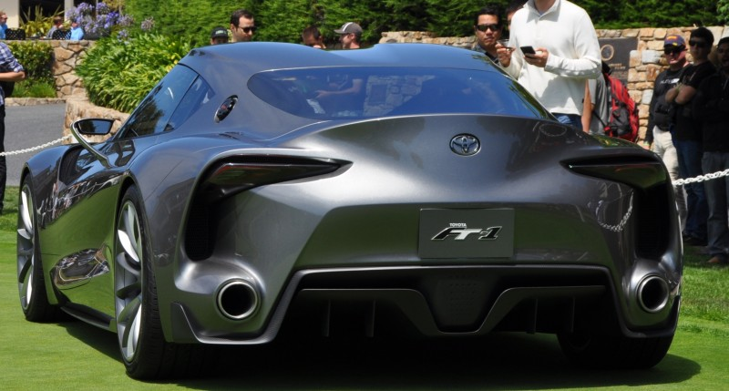 Car-Revs-Daily.com 2014 Toyota FT-1 Concept Version Two Grey Pebble Beach 25