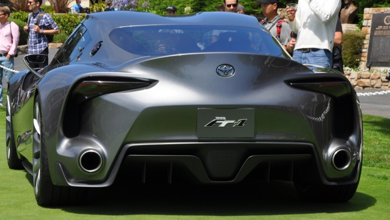 Car-Revs-Daily.com 2014 Toyota FT-1 Concept Version Two Grey Pebble Beach 27