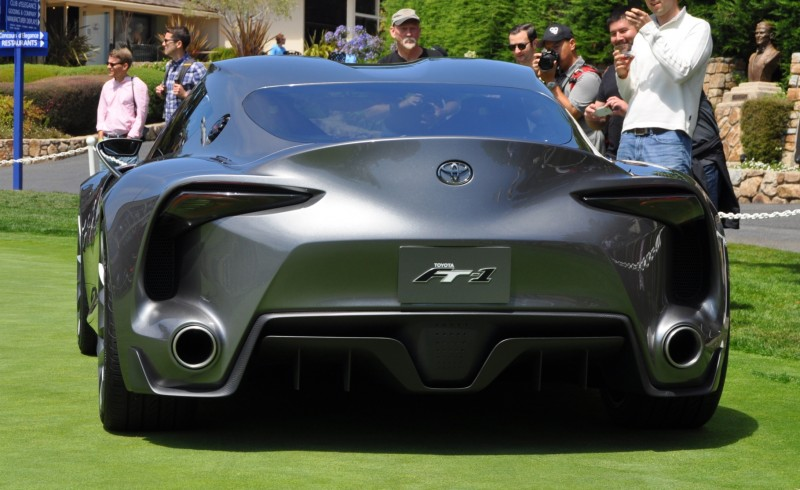 Car-Revs-Daily.com 2014 Toyota FT-1 Concept Version Two Grey Pebble Beach 28