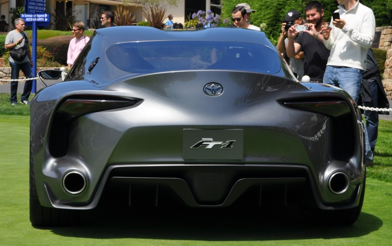 Car-Revs-Daily.com 2014 Toyota FT-1 Concept Version Two Grey Pebble Beach 29