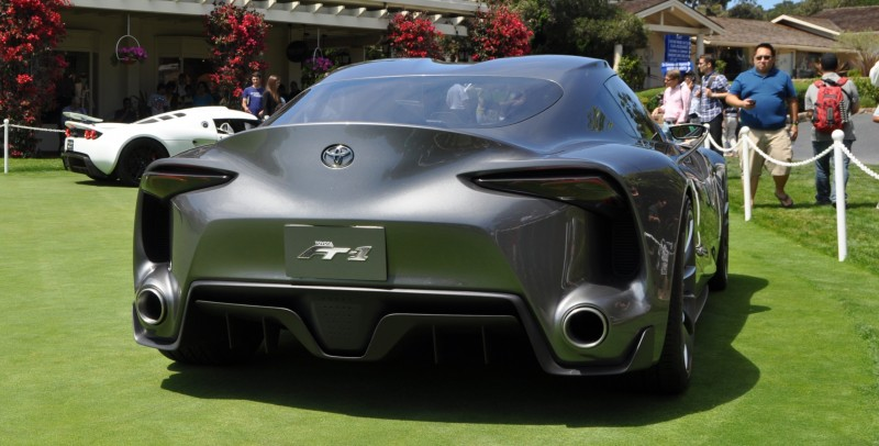 Car-Revs-Daily.com 2014 Toyota FT-1 Concept Version Two Grey Pebble Beach 34