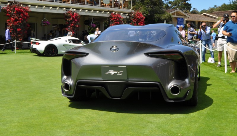 Car-Revs-Daily.com 2014 Toyota FT-1 Concept Version Two Grey Pebble Beach 37