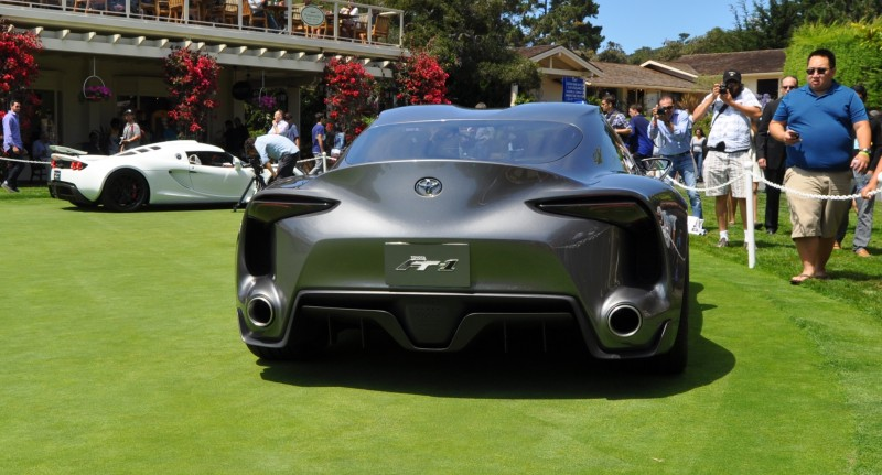 Car-Revs-Daily.com 2014 Toyota FT-1 Concept Version Two Grey Pebble Beach 38