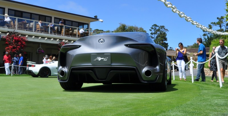 Car-Revs-Daily.com 2014 Toyota FT-1 Concept Version Two Grey Pebble Beach 4