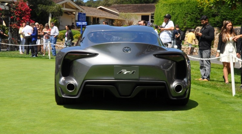 Car-Revs-Daily.com 2014 Toyota FT-1 Concept Version Two Grey Pebble Beach 44