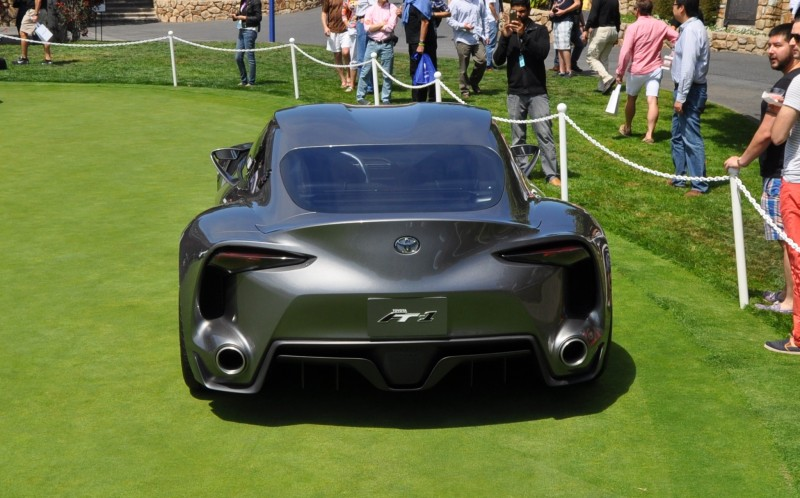 Car-Revs-Daily.com 2014 Toyota FT-1 Concept Version Two Grey Pebble Beach 45