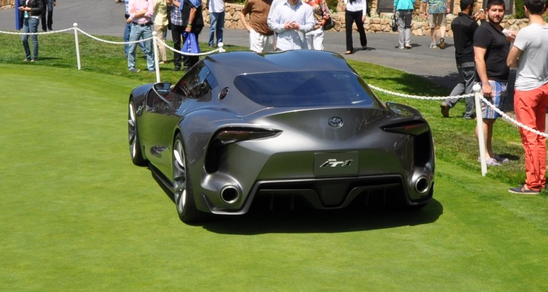 Car-Revs-Daily.com 2014 Toyota FT-1 Concept Version Two Grey Pebble Beach 46