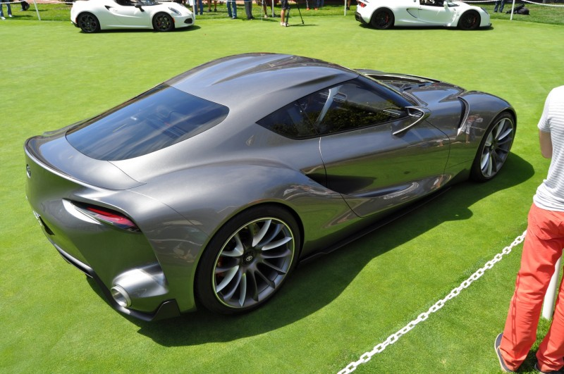 Car-Revs-Daily.com 2014 Toyota FT-1 Concept Version Two Grey Pebble Beach 50