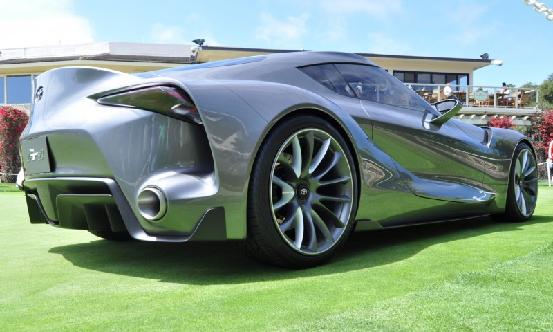 Car-Revs-Daily.com 2014 Toyota FT-1 Concept Version Two Grey Pebble Beach 6