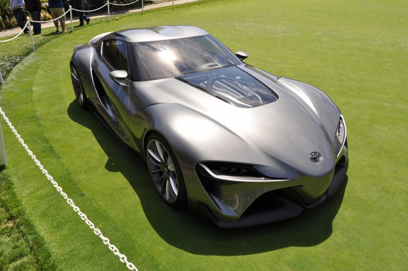 Car-Revs-Daily.com 2014 Toyota FT-1 Concept Version Two Grey Pebble Beach 60