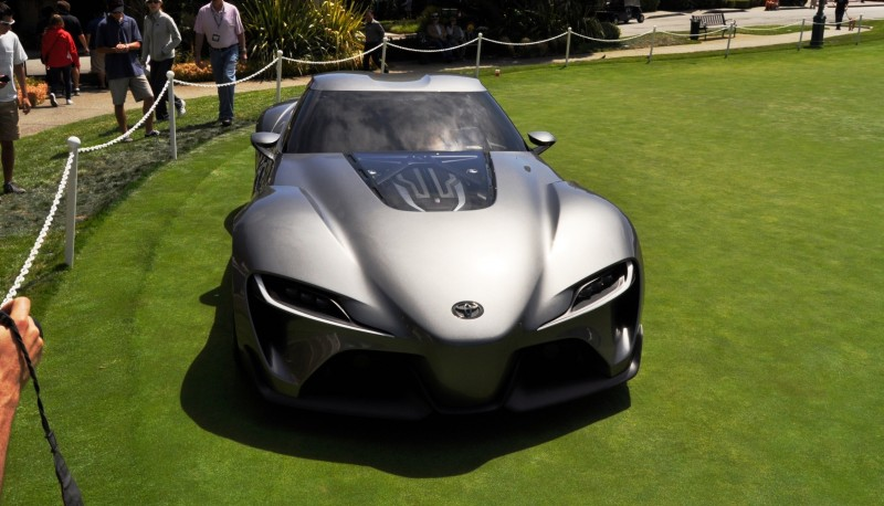 Car-Revs-Daily.com 2014 Toyota FT-1 Concept Version Two Grey Pebble Beach 62