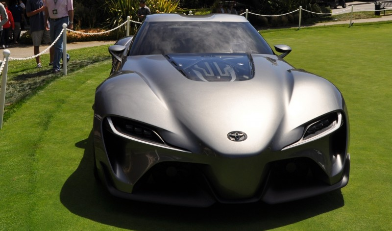 Car-Revs-Daily.com 2014 Toyota FT-1 Concept Version Two Grey Pebble Beach 63